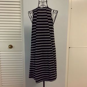 one clothing Dresses - One Clothing sleeveless stripes dress